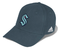 Seattle Kraken Adidas Flexfit Hat