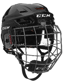 CCM Tacks 710 Hockey Helmet Combo
