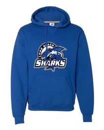Long Beach Sharks PC78H Pullover Hoodie